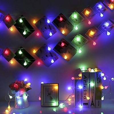33ft 100 LEDs Battery Operated String Lights