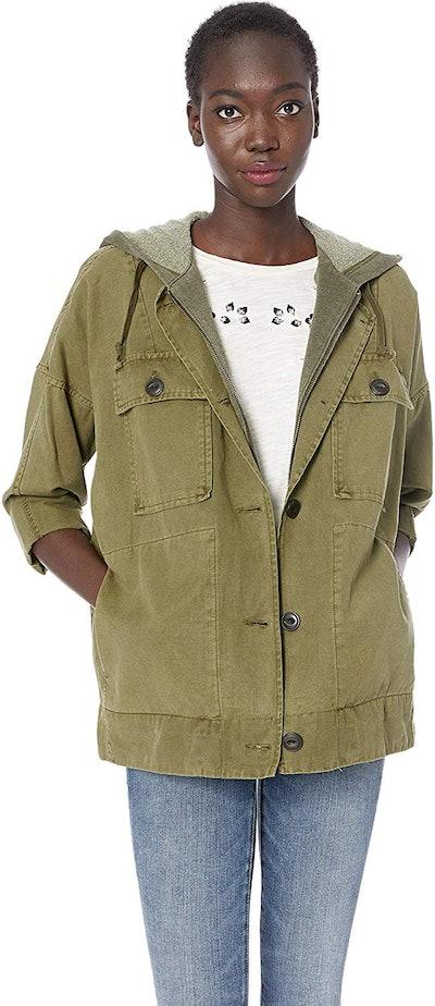 Lucky Brand Women's Hooded Utility Jacket