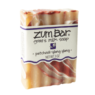 Patchouli-Ylang Ylang Zum Bar Goat's Milk Soap