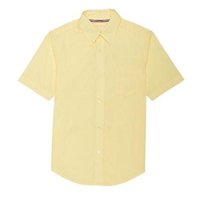 French Toast Boys' Short Sleeve Dress Shirt