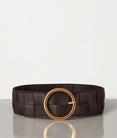 Belt In Intrecciato Nappa