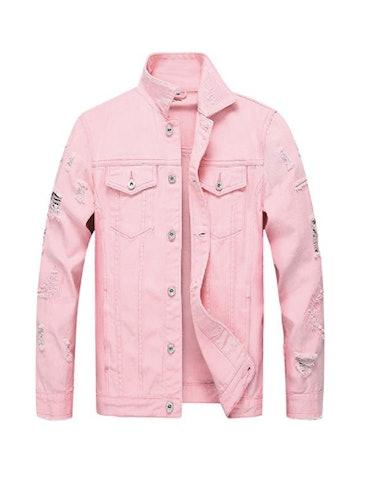 LZLER Jean Jacket for Men