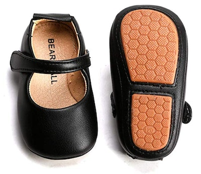 Infant Baby Girl Shoes Soft Sole Ballet Flats
