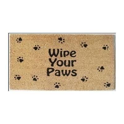 Wipe Your Paws Doormat 18 x 30