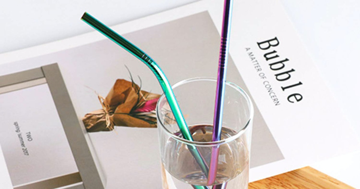 Amazon's Best-Selling Straws Are Only $1 Each — & They Come With A Cleaning Brush