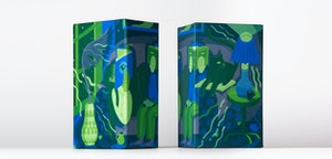 The Limited Edition features a wrap-around cover designed by Edmonton artist Jill Stanton.