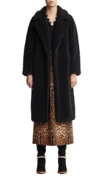 Scoop Vegan Fur Teddy Coat