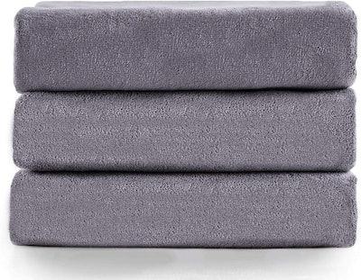 JML Microfiber Bath Towels (Set Of 3)
