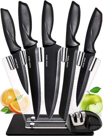 Chef Knife Set Knives Kitchen Set (7-Pack)
