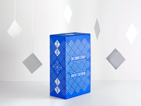 Available from Hingston & Olsen Publishing, this Short Story Advent Calendar —shown above is blue —is perfect for writers and readers.