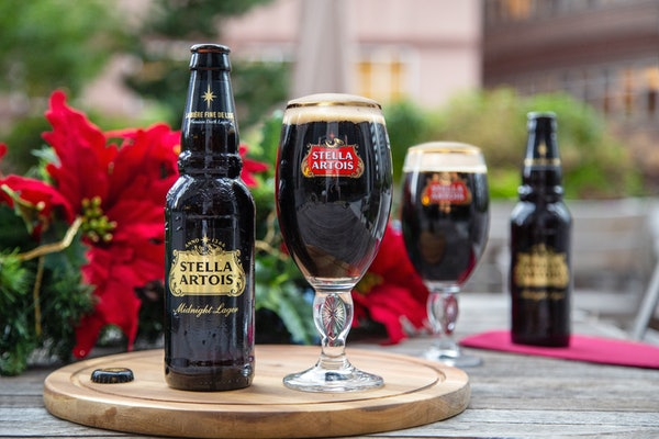 Stella Artois' Holiday 2019 Midnight Lager is the company's first dark beer.