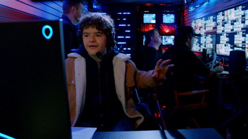 Gaten Matarazzo hosting Netflix's Prank Encounters.