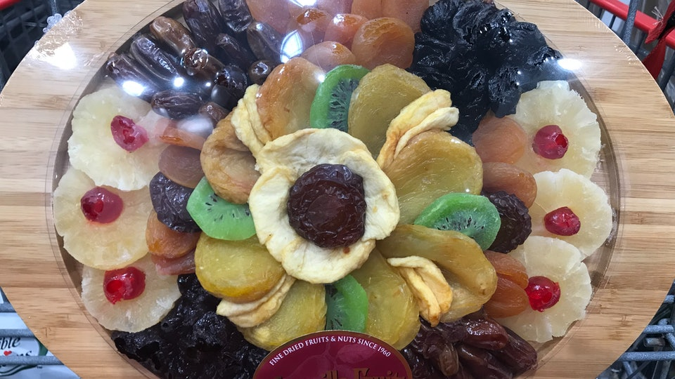 vacaville dried fruit plate costco