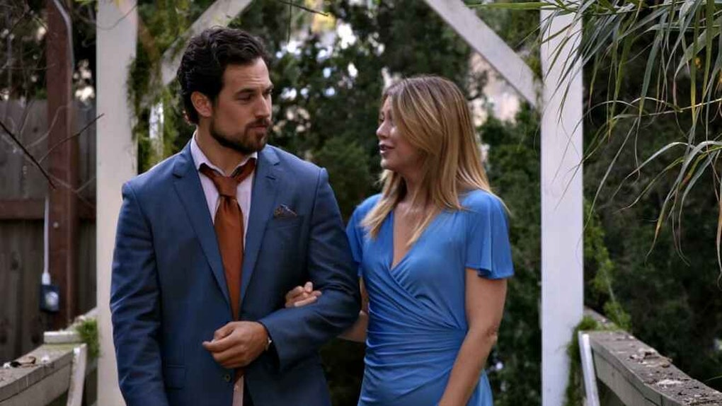 Meredith and DeLuca on Grey's Anatomy