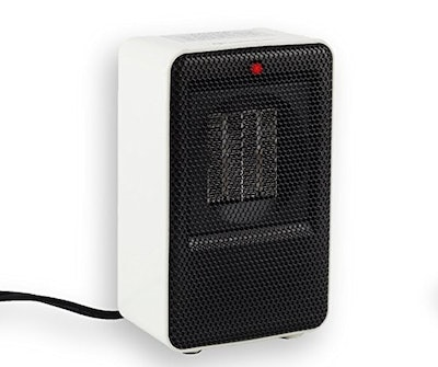 Comfort Zone CZ410WT Fan-Forced Personal Ceramic Desktop Heater
