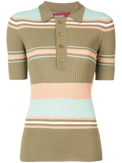 Sies Marjan Knitted Polo Shirt