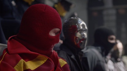 Red Scare and Looking Glass in HBO's Watchmen.