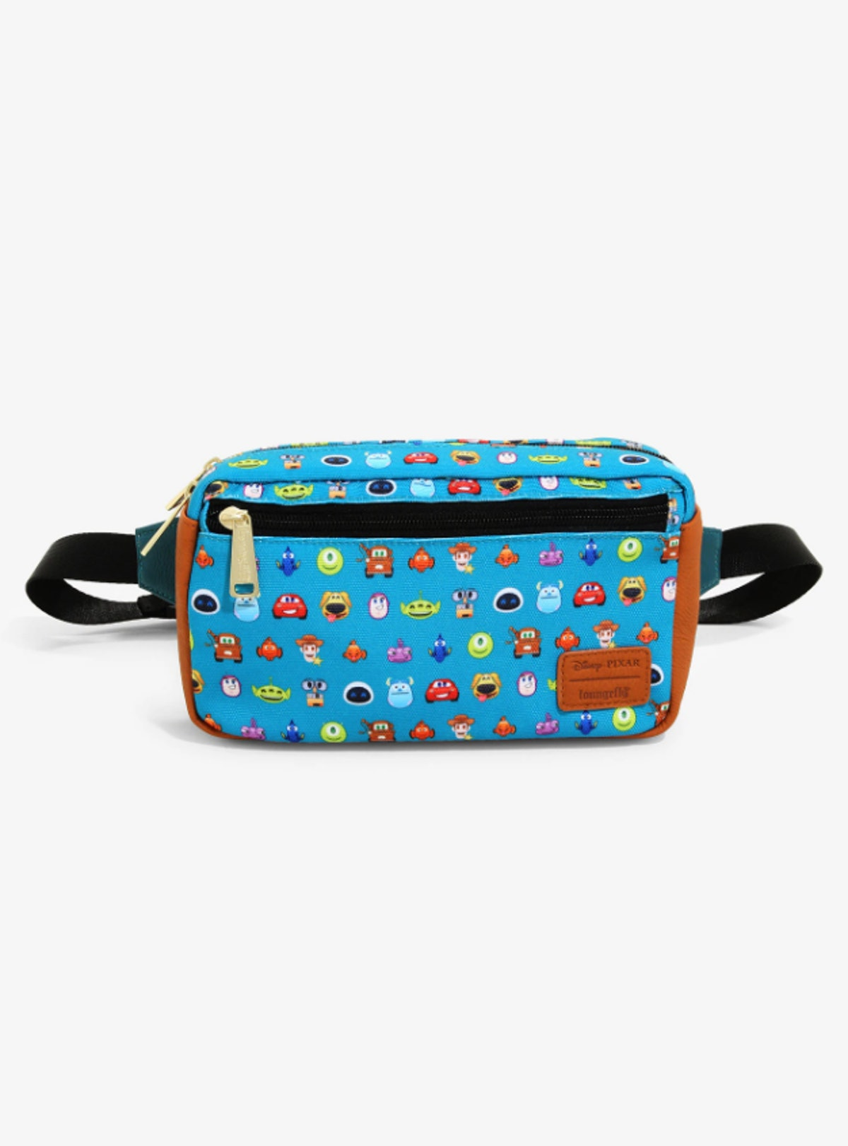 Loungefly Disney Pixar All Cast Fanny Pack - BoxLunch Exclusive