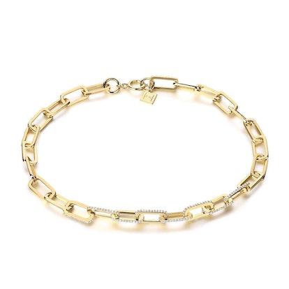 Dylan Gemstone Chain Necklace