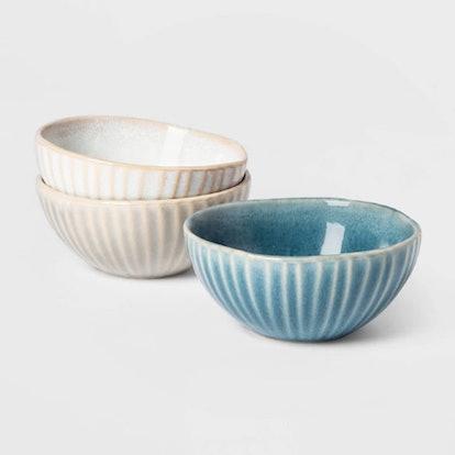 Ceramic Condiment Bowls (3 Pack)