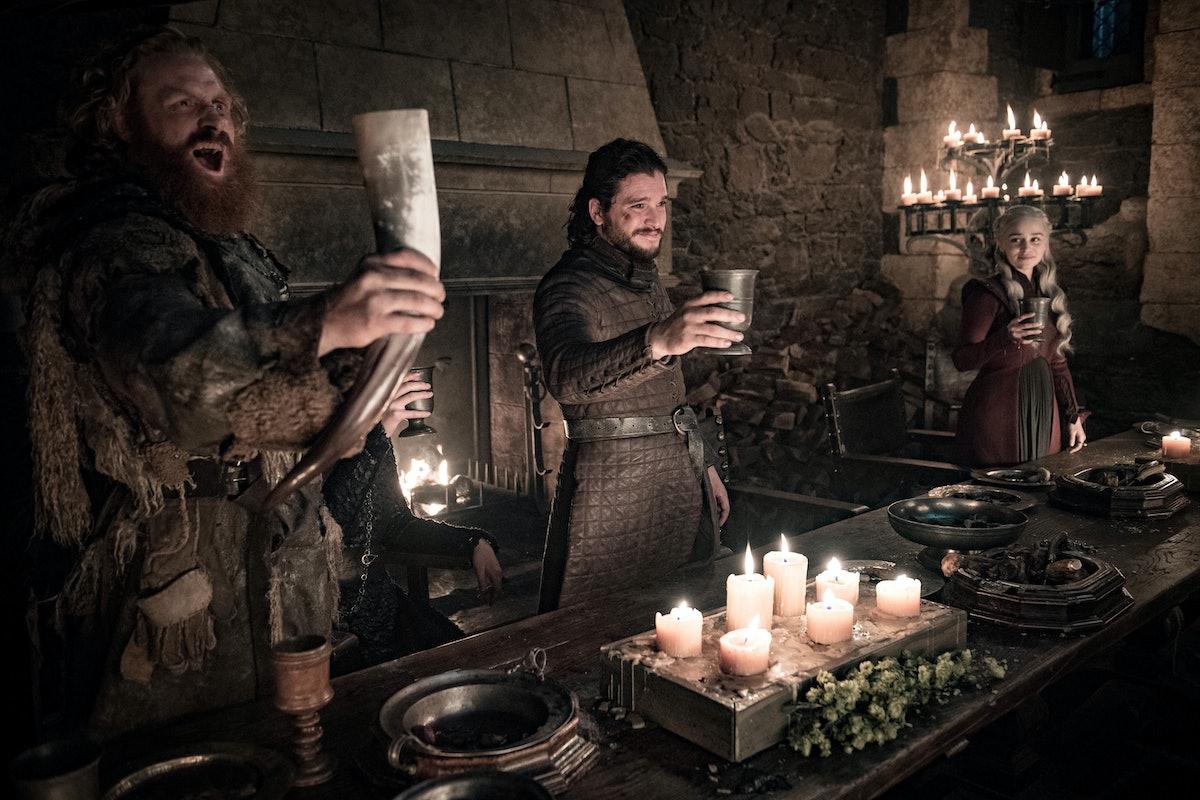 Daenerys and Jon Snow in Game of Thrones Season 8