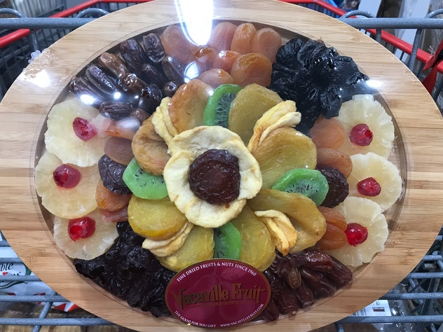 Vacaville Oval Dried Fruit Tray from Costco