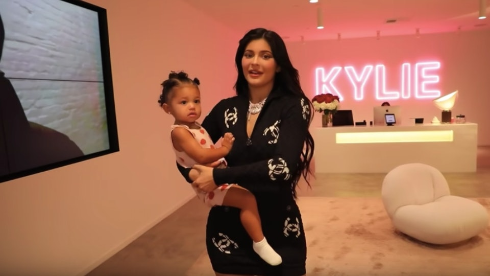 Kylie Jenner says she has shortened her makeup routine since becoming a mom