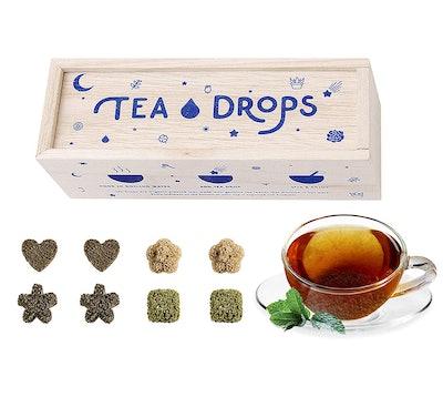 Tea Drops Organic Pressed Tea