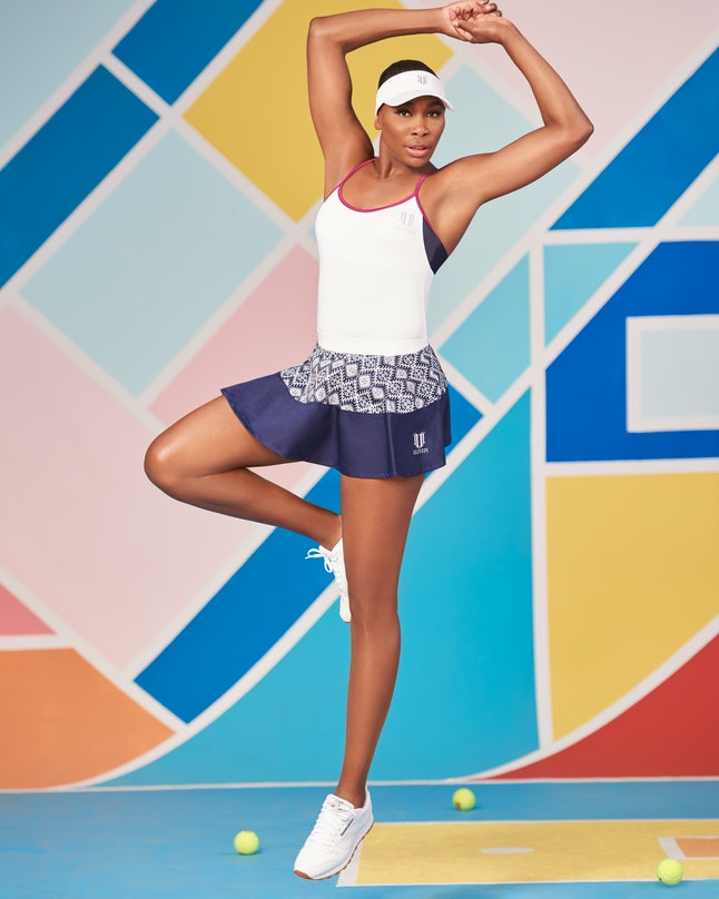 Venus Williams launches her Iman Collection for her tennis apparel line, EleVen by Venus Williams