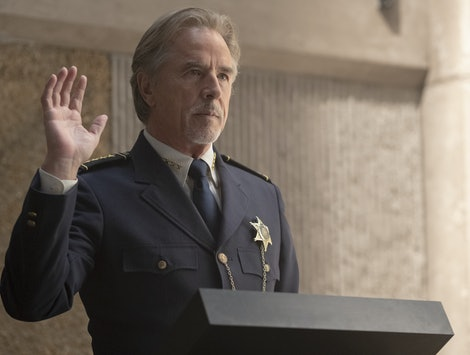 Don Johnson as Judd Crawford in HBO's Watchmen
