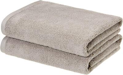 AmazonBasics Quick-Dry Bath Towels (Set Of 2)