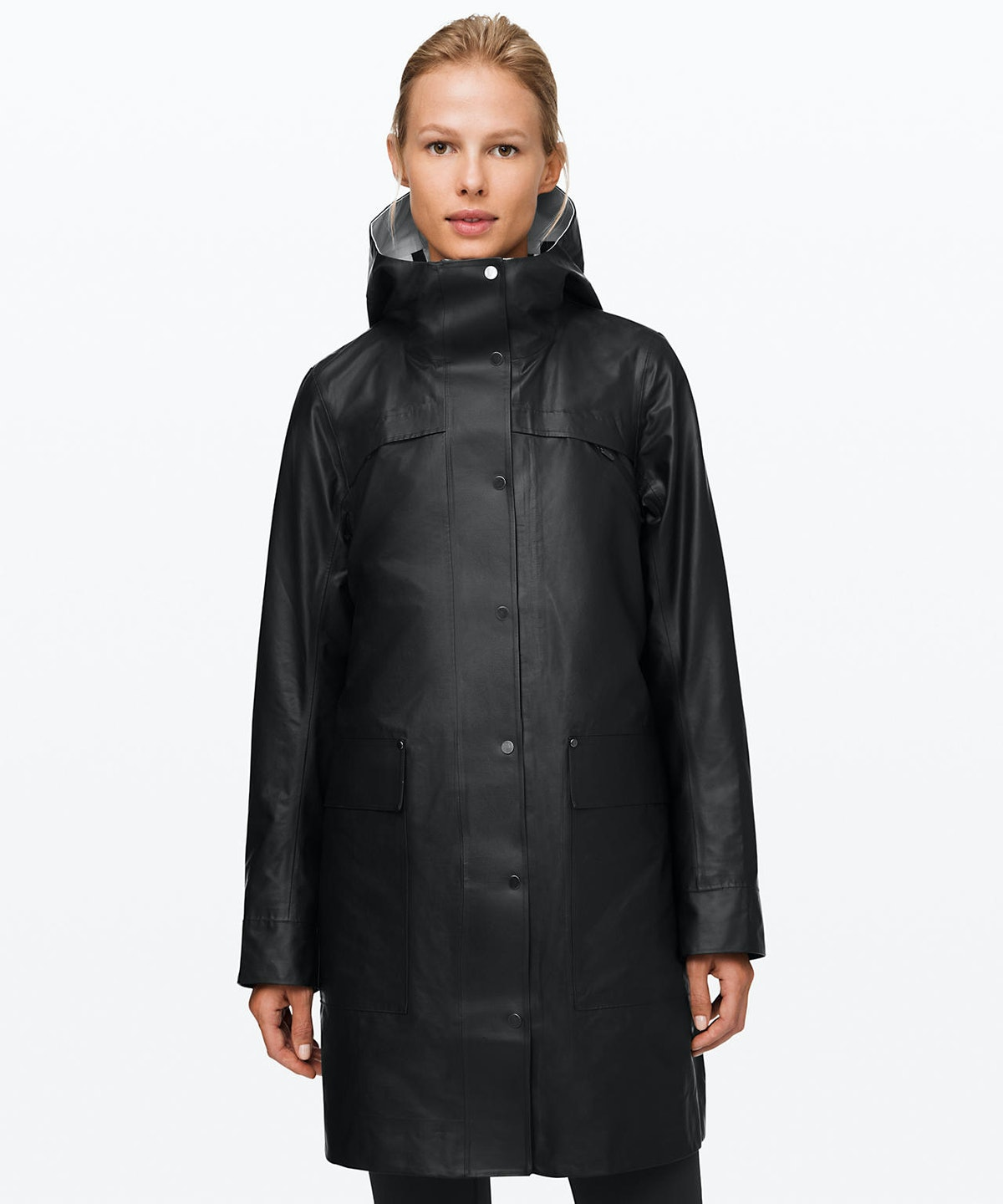 """Into the Drizzle Jacket in """"Black/Holistic White"""""""