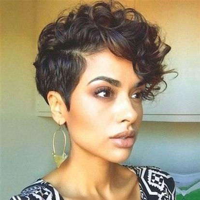 Women's Short Curly Wig