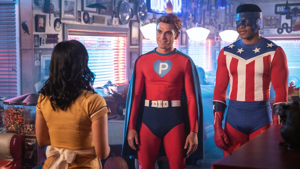 Photos from 'Riverdale's Halloween episode show Archie in costume as Pureheart the Powerful