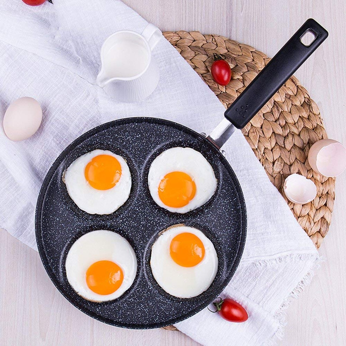 MyLifeUNIT 4-Cup Egg Frying Pan