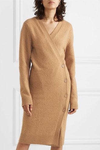 Wool Wrap Cardigan