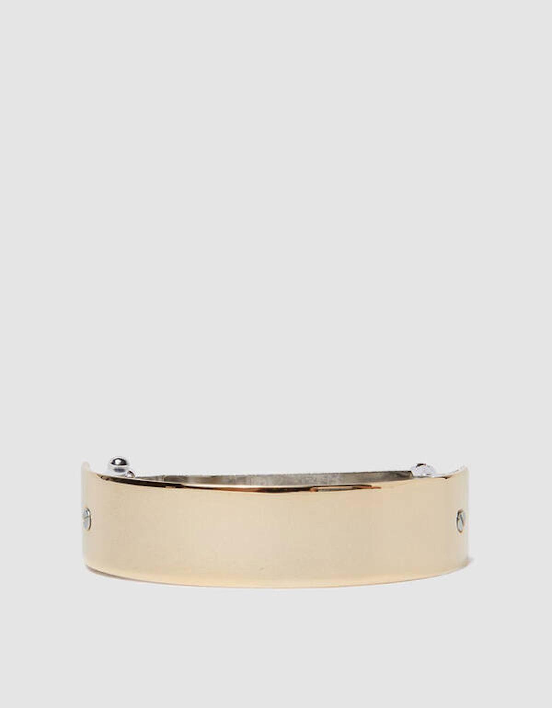 Gold Barrette 046