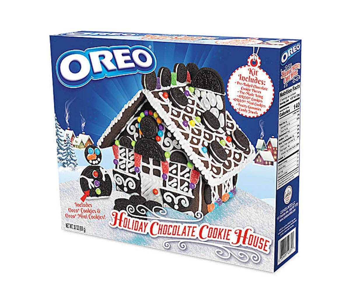 Oreo Holiday Chocolate Cookie House Kit
