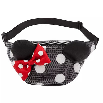 Minnie Mouse Sequined Hip Pack by Loungefly