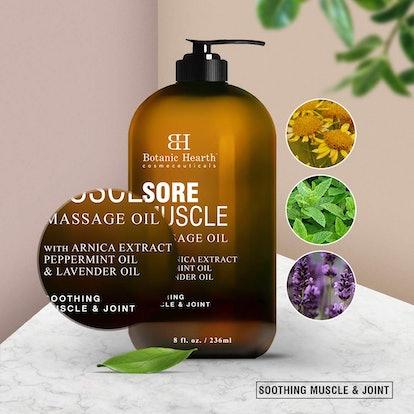 Botanic Hearth Sore Muscle Massage Oil