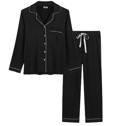 Joyaria Womens Soft Bamboo Pajama Sets