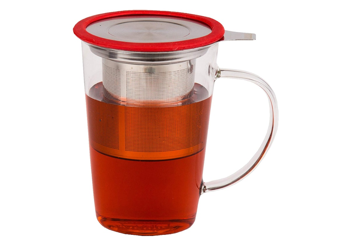 Mächtig Glass Tea Cup With Infuser