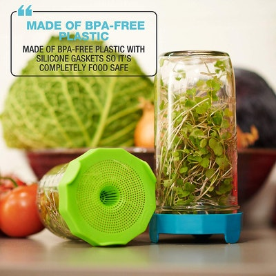 Masontops Sprouting Lids (2-Pack)