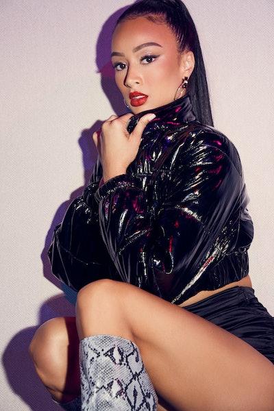 superdown x Draya Metro Girl Jacket in Black