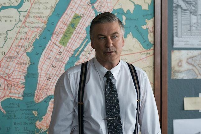 Alec Baldwin as Moses Randolph in Motherless Brooklyn