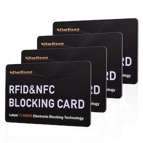 RFID Blocking Card (4-Pack)