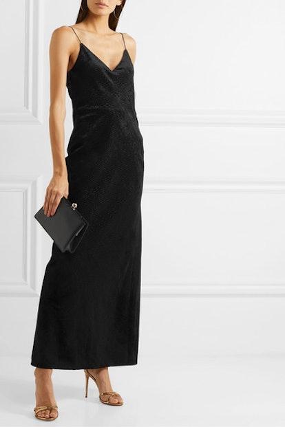 Josephine Devoré-Velvet Gown