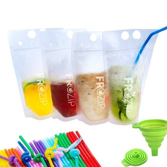 FroZip Disposable Drink Container (50 Pieces)
