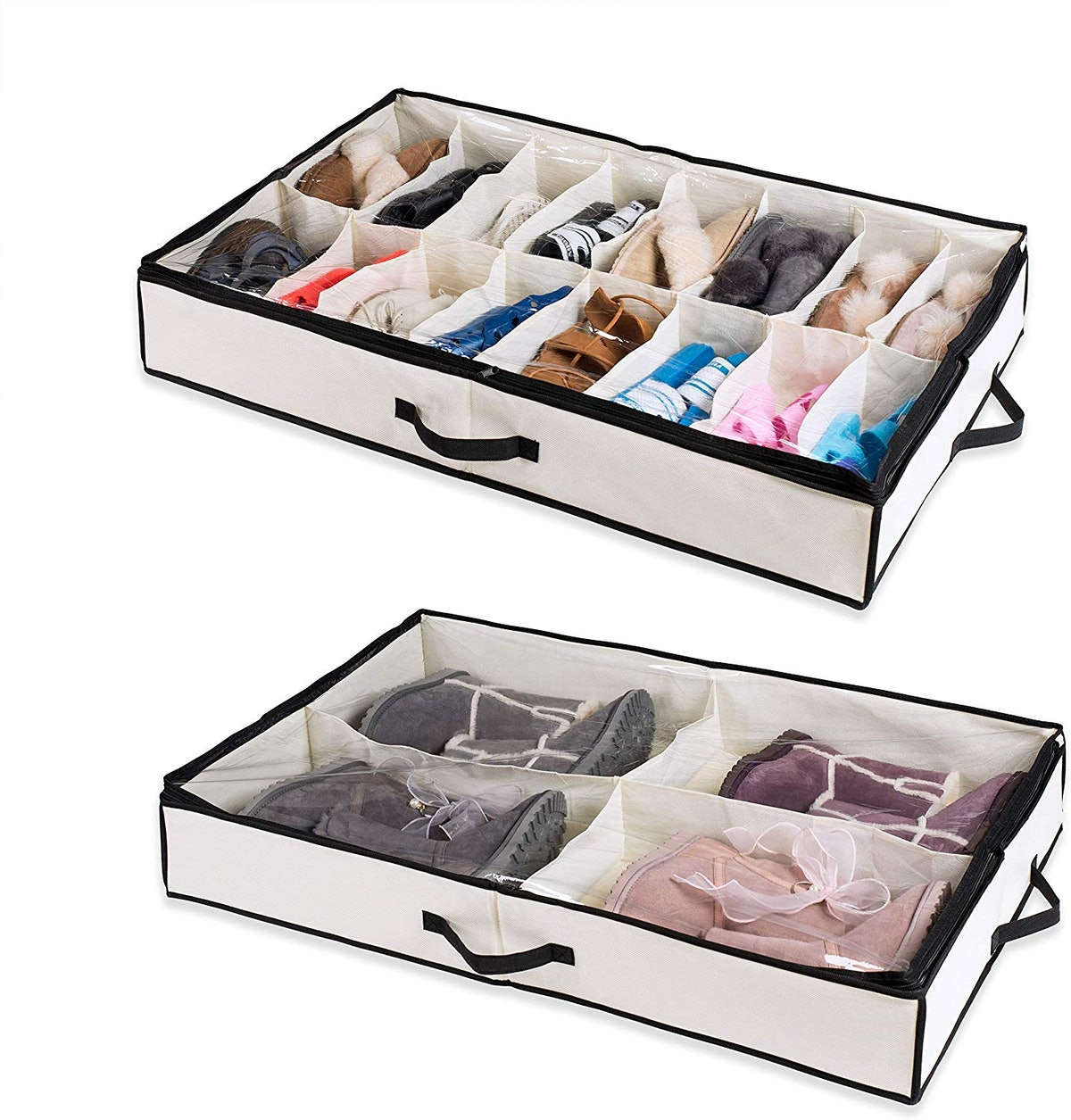 Woffit Under-The-Bed Shoe Organizer