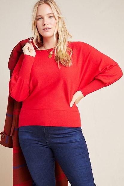 Denise Dolman-Sleeved Sweater